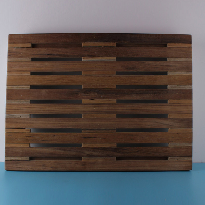 17 5 X 12 9 Wall Mount Folding Teak Shower Bench