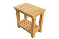 Busselton Teak Shower Bench 18