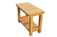 Busselton Teak Shower Bench 24
