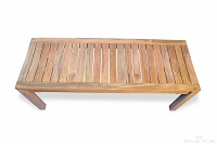 Teak Rosemont Backless Bench 48in