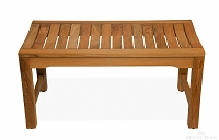 Teak Rosemont Backless Bench 36in