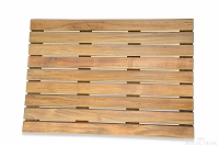 Spa Teak Bath Mat 20in x14in