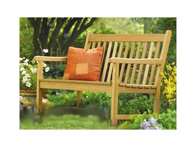 "51"" L x 25.5"" D x 36.5"" H Strong Outdoor Teak Bench"